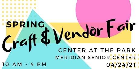 Spring Craft & Vendor Fair tickets