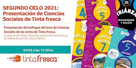 SEGUNDO CICLO 2021: Presentación y acceso a Ciencias Sociales Tinta fresca entradas