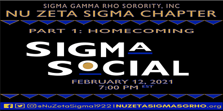 The Sigma Social tickets