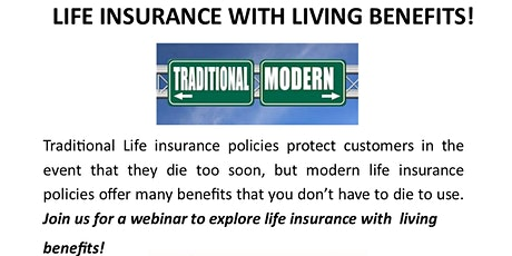 Life Insurance With Living Benefits tickets