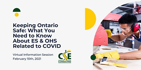 Keeping Ontario Safe: What You Need to Know About ES & OHS Related to COVID tickets