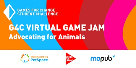 G4C Student Challenge National Game Jam: Advocating for Animals tickets