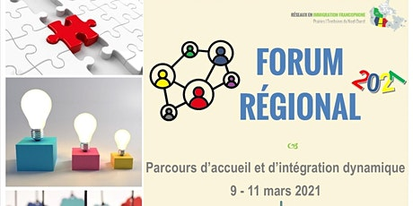 FORUM REGIONAL DES PRAIRIES ET TERRITOIRES DU NORD DU 9 - 11 MARS 2021 billets