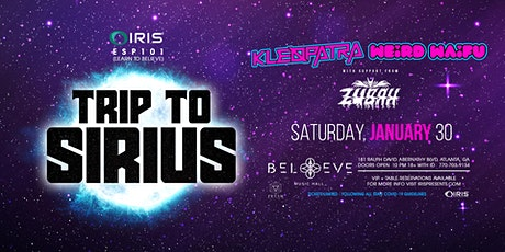 TheSirius Tour Kleopatra & Weird Waifu | IRIS  Sat 1/30 | Less than100 tics tickets