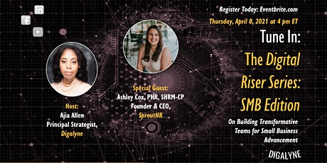 The Digital Riser Series | Transformative Teams with Ashley Cox tickets