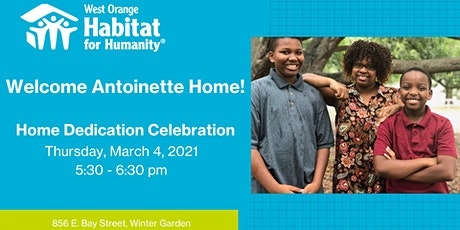 Welcome Antoinette Home! tickets