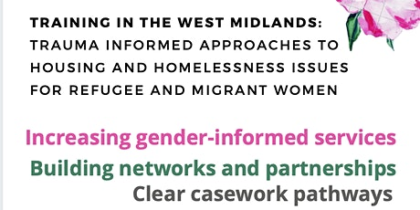 Trauma Informed Training on Housing Rights for Refugee and Migrant Women tickets