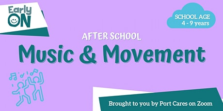 After School Music & Movement tickets