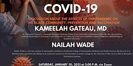 COVID-19 Discussion tickets
