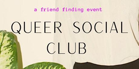 Queer / Trans Social Club (meet new friends!) tickets