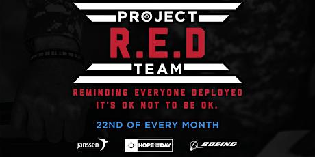 HFTD's Project R.E.D. Team - Monthly Mental Health Education tickets