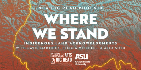 NEA Big Read Phoenix: Indigenous Land Acknowledgments tickets