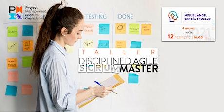 Taller de Disciplined Agile Scrum Master boletos