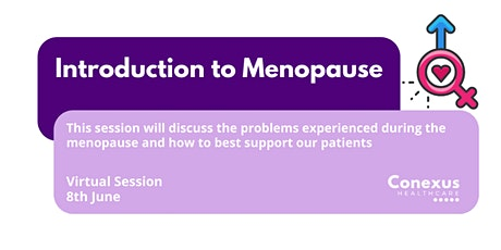 Introduction to Menopause tickets
