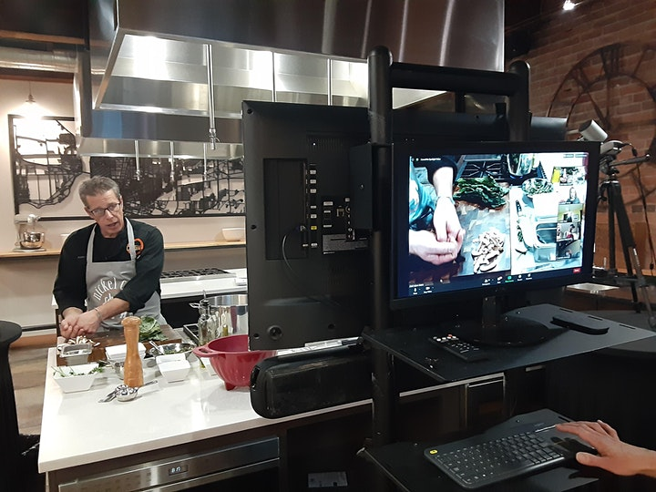 Virtual Cooking Class with Chef Adam Goetz image