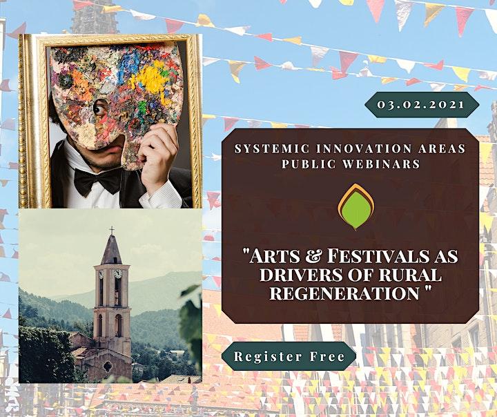 Arts & Festivals. Drivers for Rural Regeneration image