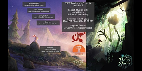 Baobab Studios at 5: Innovations in Animated Storytelling tickets