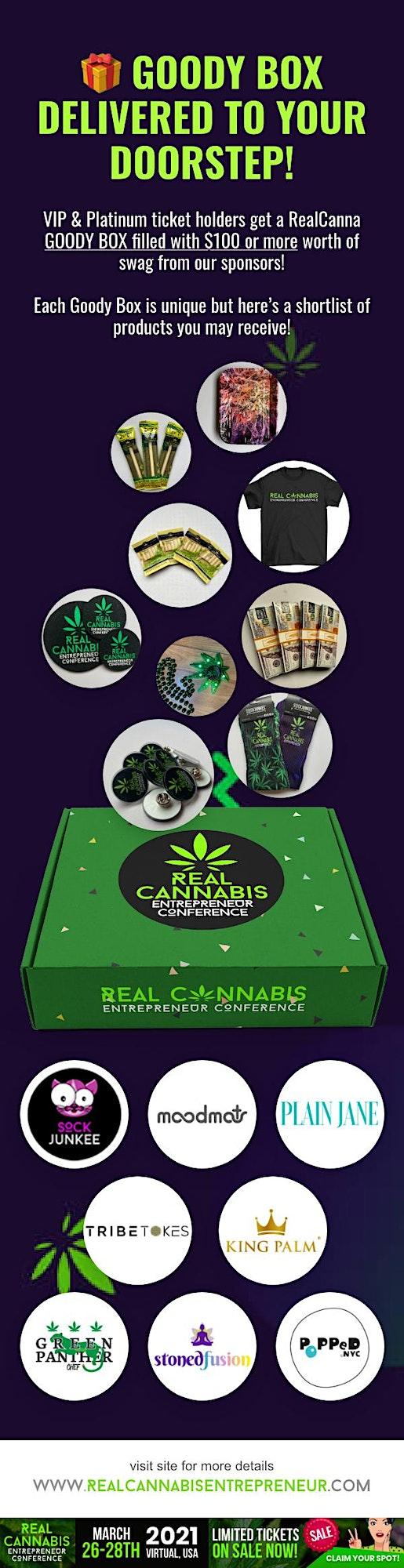 Real Cannabis Entrepreneur Virtual Conference NJ 2021 image