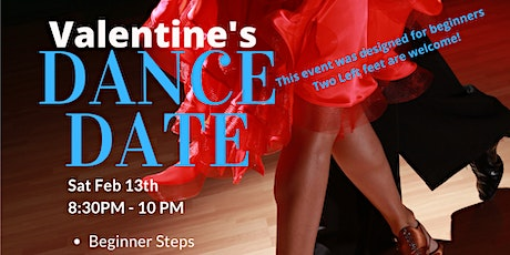 """Valentines Dance Date """"AMORE"""" Flirty Dancing! Feb 13th 2021 tickets"""