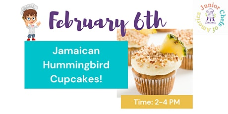 Kids (4-12) In-Person Cooking Class - Jamaican Hummingbird Cake - PM tickets