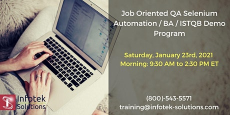 Launching New Career Change Job-Oriented QA Automation / BA Weekend Program tickets