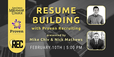 Building a Resume with Mike Chiv and Nick Mathews of Proven Recruiting tickets