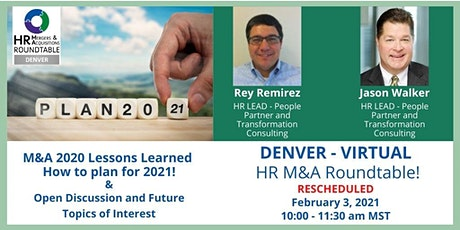 M&A 2020 Lessons  Learned - How to plan for 2021! tickets