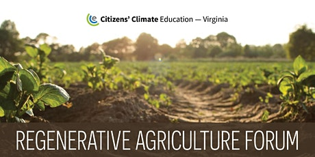 Regenerative Agriculture Forum  - hosted by CCE VA tickets