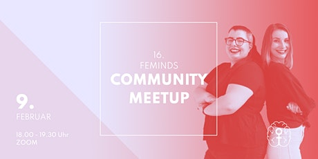 16. FEMINDS Community Meetup - We rise by lifting others tickets