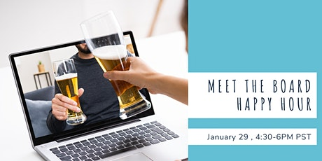 Meet The Board Happy Hour tickets
