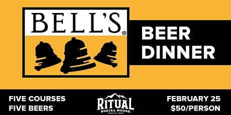 Bells Brewery Beer Dinner February 25th 7pm tickets
