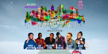 All Access Art Show x TheRealJCann presents: Comedy's Best Kept Secret Tour tickets