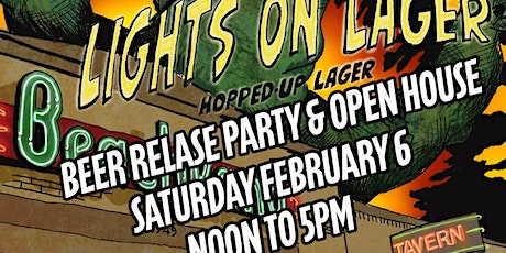 Beachland Lights On Lager Beer Release & Open House tickets