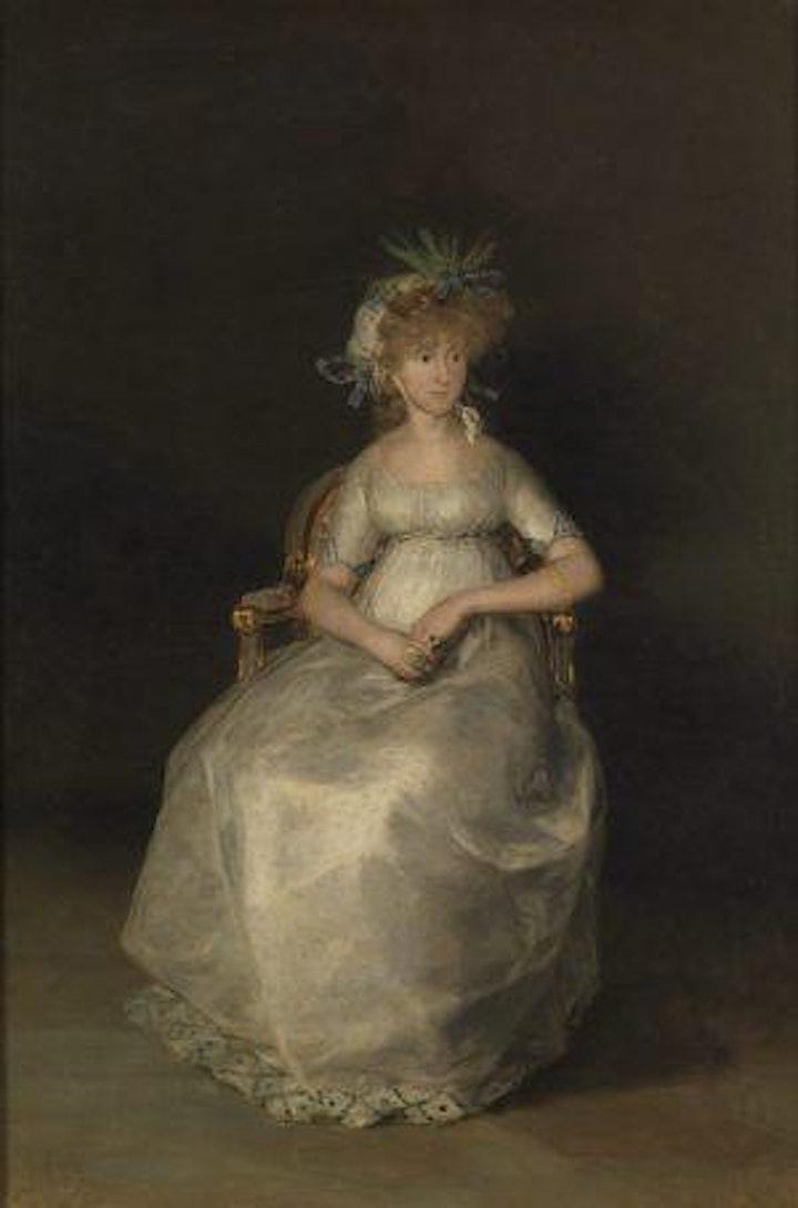 Imagen de La Condesa de Chinchón y Goya. Cuadros con historias.