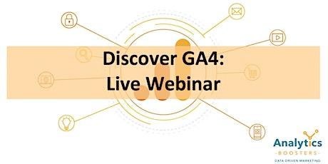 Discover GA4! ingressos