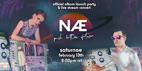 "Saturnae: ""Push Button Future"" Album Launch Party tickets"