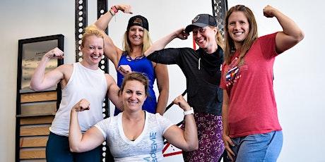 Women's Squat Class + Free T-Shirt tickets