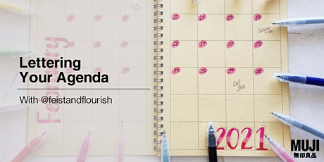Lettering Your Agenda with @feistandflourish tickets