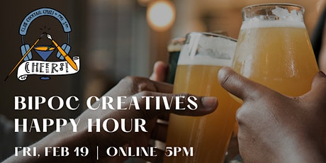 BIPOC Creatives Happy Hour tickets
