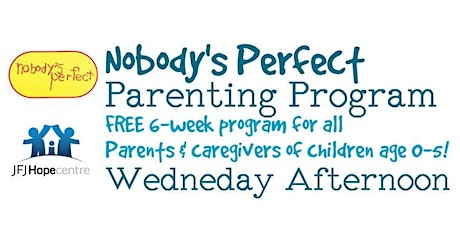 Nobody's Perfect Wednesday Afternoons tickets