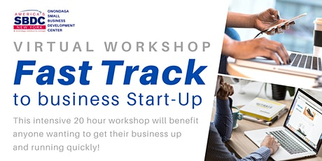 Fast Track to Business Start-Up Virtual Workshop - March 2021 tickets