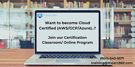 Do you want to earn certifications in Cloud (AWS/GCP/Azure)? tickets