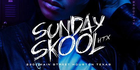 Sunday Skool @ ROSE GOLD - RSVP NOW! FREE ENTRY tickets