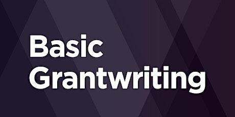 Basic Grantwriting tickets
