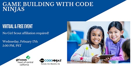 Game Building with Code Ninjas! tickets