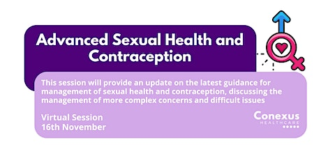 Advanced Sexual Health and Contraception tickets
