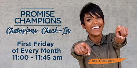 Promise Champion Check-In tickets
