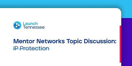 Mentor Networks Topic Discussion: IP Protection tickets