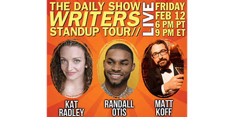 The Daily Show Writers Standup Tour tickets