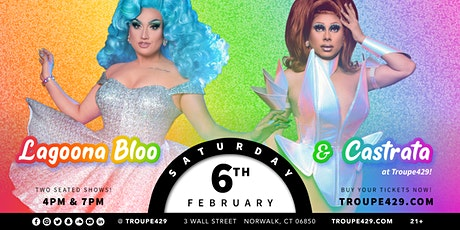 "Lagoona Bloo from ""The Voice"" drag show at Troupe429 - SAT FEB 6 (4PM) tickets"